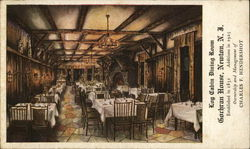 Log Cabin Dining Room, Gorhran House
