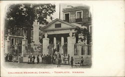 Columbus Memorial Chapel, Templete