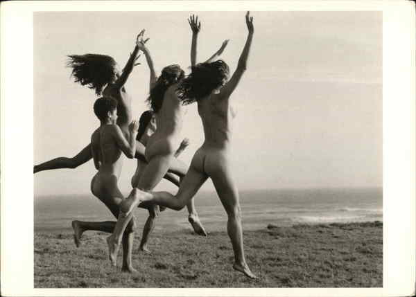 Running at Point Conception, California, 1979 Bruce Weber