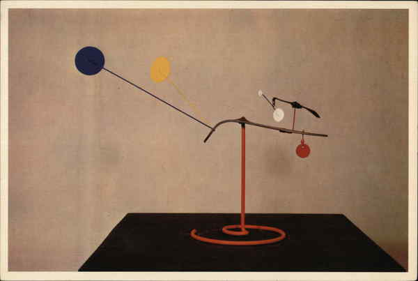 Brass Beak with Yellow and Blue Eyes - Alexander Calder