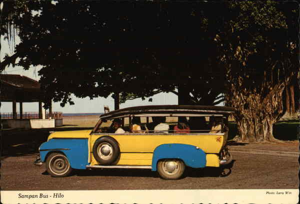 Sampan Bus - Hilo Hawaii Buses