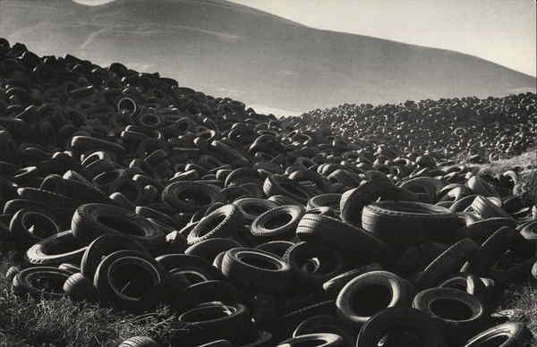 Abandoned Old Tires - Black Cheerios - Photo by James Lee Soffer