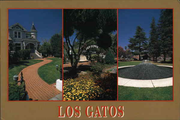 Greetings from Los Gatos California