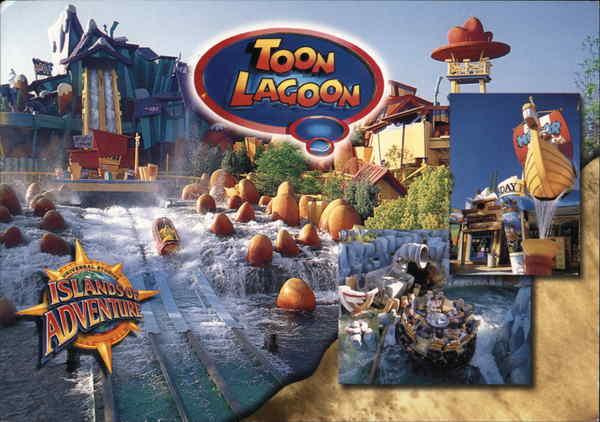 Universal Studios Islands of Adventure - Toon Lagoon ...