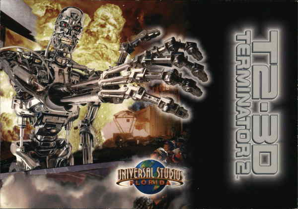 Universal Studios - Terminator 2: 3-D Battle Across Time Florida