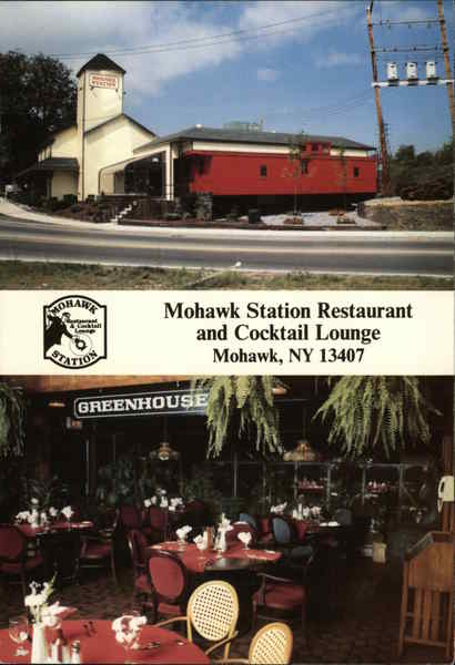 Mohawk Station Restaurant and Cocktail Lounge - Interior and Exterior Views New York