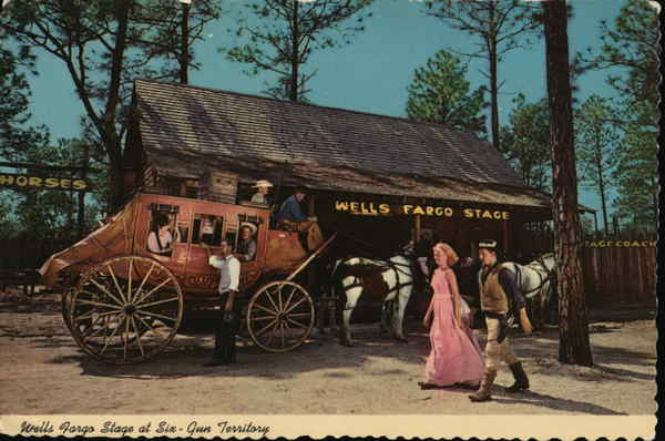 Wells Fargo Stage at Six-Gun Territory Silver Springs Florida