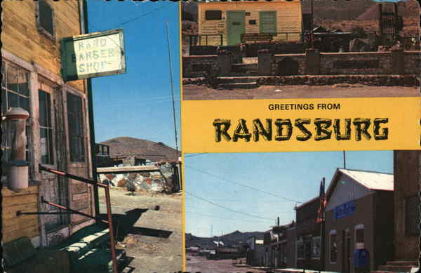 Greetings from Randsburg California