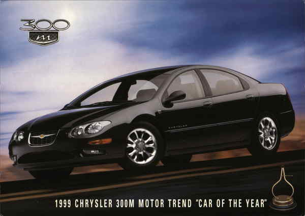 1999 Chrysler 300M Motor Trend Car of the Year Cars