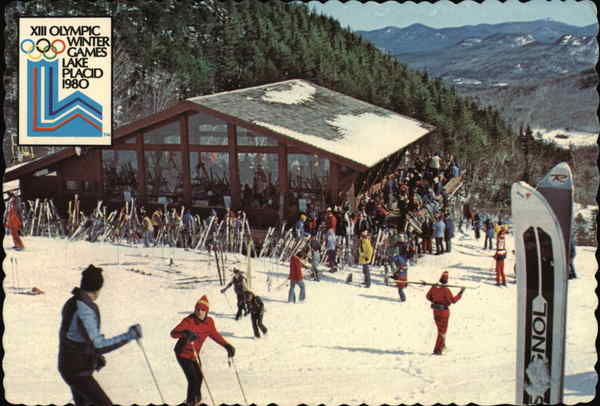 XIII Olympic Winter Games 1980 Lake Placid New York