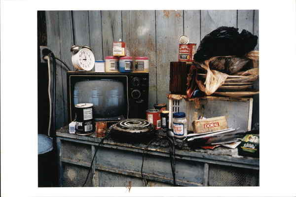 A Neighborhood Kitchen in a Home Being Rehabilitated, 1999 Philadelphia Pennsylvania