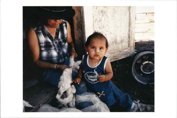 Lena Benally and Her Grandson, Donnie Jeddito Arizona