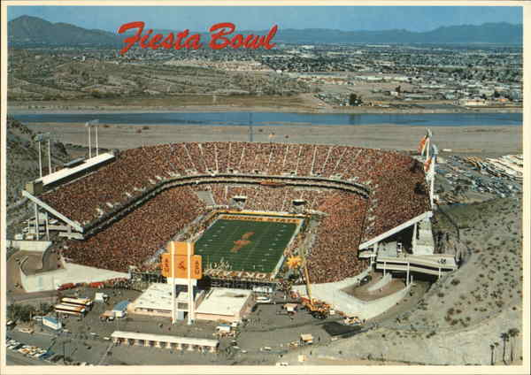 Sun Devil Stadium, Arizona State University Tempe Aero Photo Services Photo
