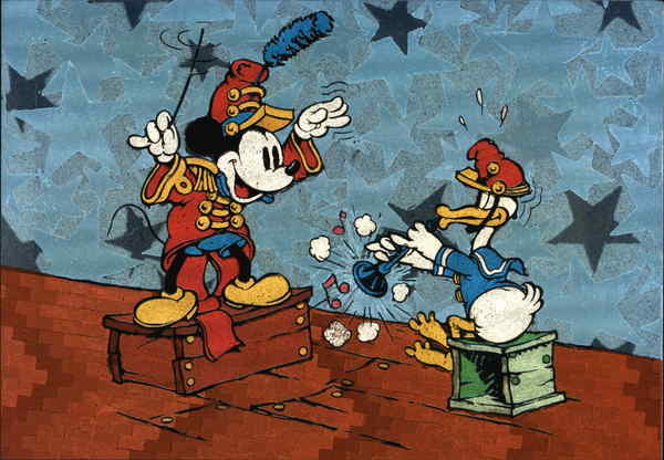 The Band Concert (1935) Mickey Mouse and Donald Duck