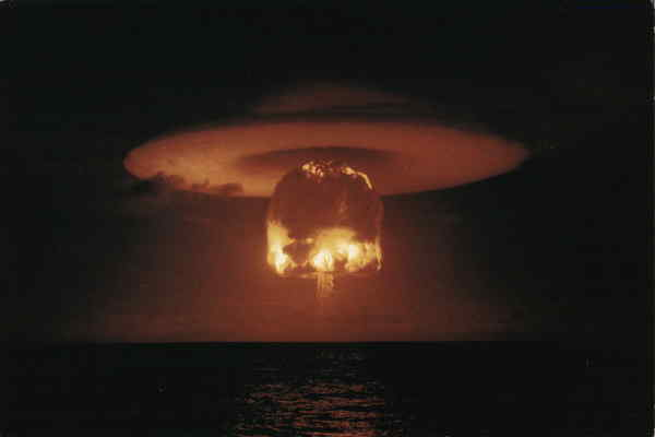 Hydrogen Bomb Test, (Romeo) March 26, 1954 Military