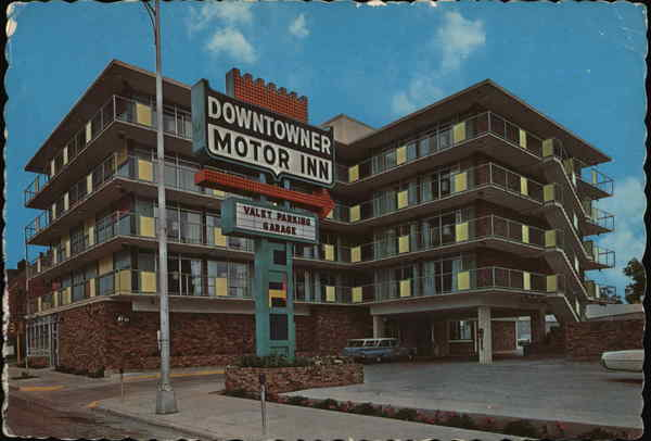 Downtowner Motor Inn Cheyenne Wyoming