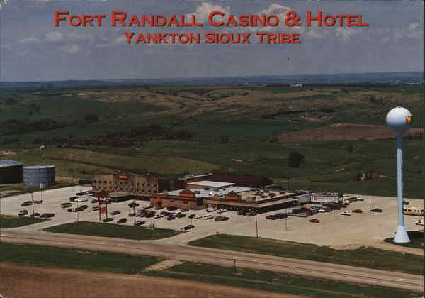 Fort Randall Hotel Pickstown Sd Postcard