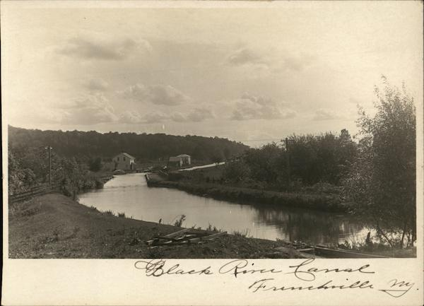 Black River Canal Frenchville New York