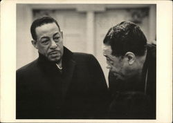 Duke Ellington (1899-1974) with Johnny Cornelius Johnny Hodges (1906-1970)