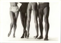 Beautiful Legs in the World - Black and Whites Gallery 1983