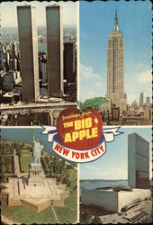 Greetings from The Big Apple - four scenic photos