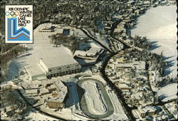 Lake Placid, New York - Site of 1980 XIII Winter Olympic Games