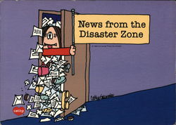 Cathy Cartoon - News from the Disaster Zone