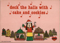 Deck the Halls with Cake and Cookies