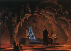 Star Wars - Emperor's Throne Room (with Luke and Vader)