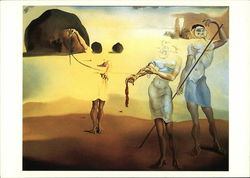 Salvador Dali Museum - Enchanted Beach with Three Fluid Graces