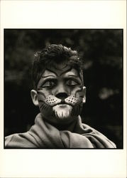 Facepainter, 1989 - Photograph by Amy Arbus
