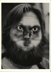 """Cat-Man-Du,"" Man's Face Merged With Cat Face"