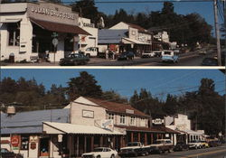 Main Street, Julian, CA - Two Views