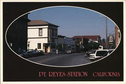 Street View of Pt. Reyes Station / Old Western Saloon - West Marin