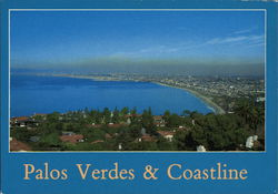 Palos Verdes & Coastline - Bird's-Eye View