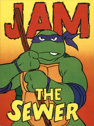 Teenage Mutant Ninja Turtles - JAM the Sewer