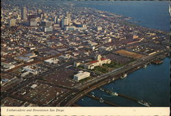 Embarcadero and Downtown - Aerial View