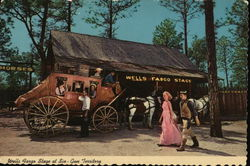Wells Fargo Stage at Six-Gun Territory