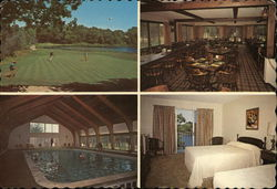Grasmere Country Club & Motor Lodge Postcard