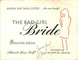 """The Bad-Girl Bride"" by Jennifer Drew"