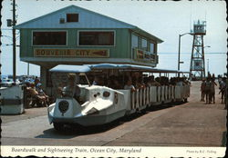 Boardwalk and Sightseeing Train