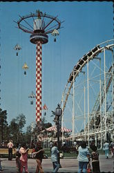 "Knott's Berry Farm""Sky Tower"" in the Newly-Developed Roaring 20s Airfield"