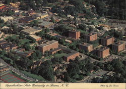 Appalachian State University - Aerial View Postcard