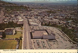 Aerial View Looking South on Foothill Blvd. Toward the Downtown District