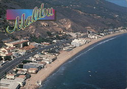 Bird's-Eye View of Malibu Beach