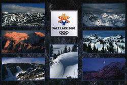 Olympic Winter Games Salt Lake 2002 - 7 photo collage