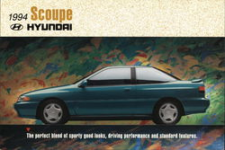 1994 Hyundai Scoupe - The Perfect Blend of Sporty Good Looks, Driving Performance and Standard Featu