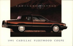 Cadillac Style - 1991 Cadillac Fleetwood Coupe