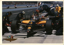 1994 Bobby Rahal Pit Stop, Indianapolis Motor Speedway Postcard