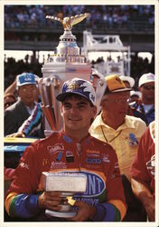 1994 Victory Circle - Jeff Gordon Postcard